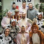 Männerballett Maingrazien Kampagne 2020 Bauernhof